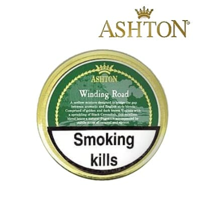 Ashton Winding Road Pipe Tobacco 5 x 50g tin