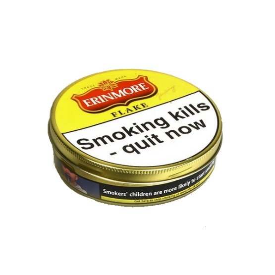 Erinmore Flake Pipe Tobacco - Single tin and 5 tins