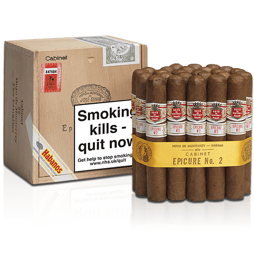 Hoyo's Epicure No.2 Cigar Box of 25
