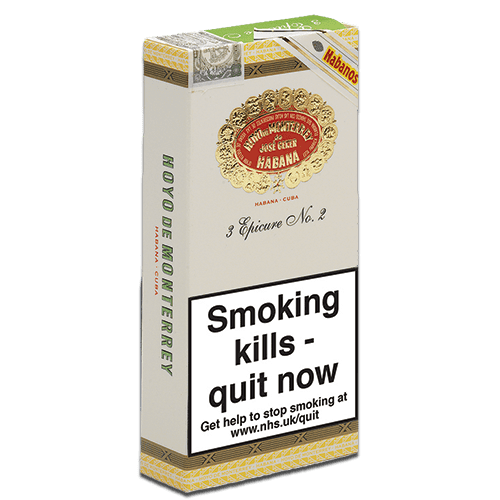 Hoyo's Epicure No.2 cigars pack of 3 tubos