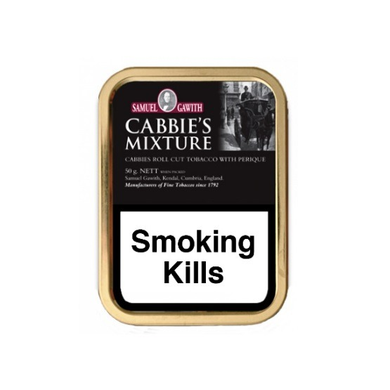 Samuel Gawith Cabbie's Mixture Tobacco Single Tin and 5 x 50g Tins