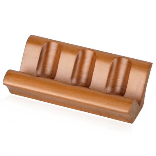 Wood-Sofa-Style-Pipe-Stand-for-Three-Pipes
