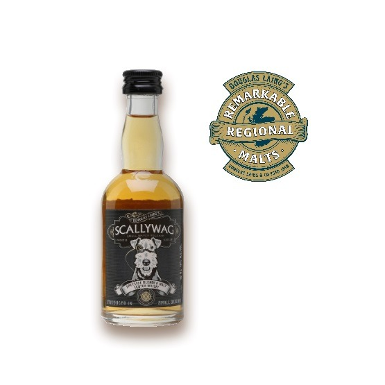 Douglas Laing's Scallywag Whisky Miniature