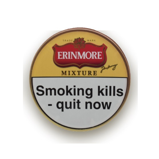 Erinmore Mixture Pipe Tobacco - Single Tins and 5 x 50g Tins