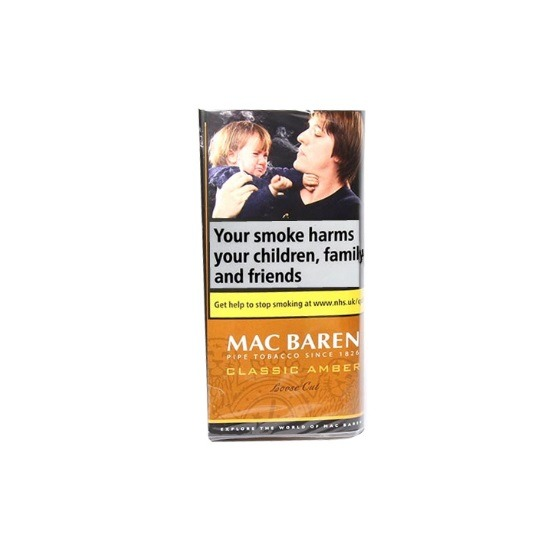 Mac Baren Amber Loose Cut Pipe Tobacco