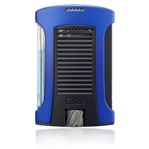 Colibri-Daytona-Single-Jet-Flame-Lighter-–-Blue