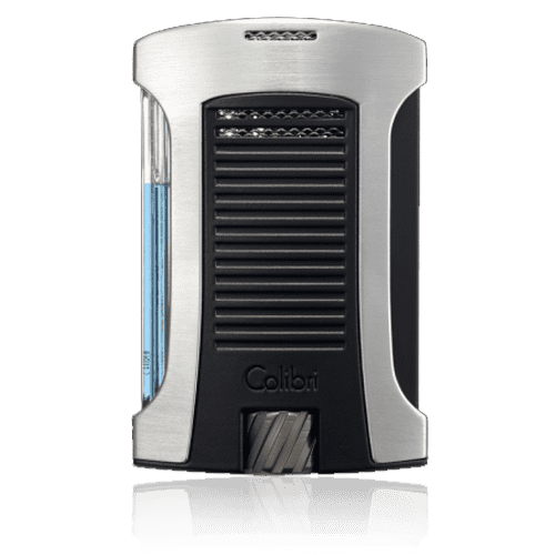 Colibri-Daytona-Single-Jet-Flame-Lighter-–-Brushed-Chrome