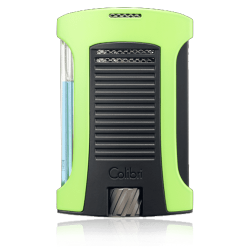 Colibri-Daytona-Single-Jet-Flame-Lighter-–-Green