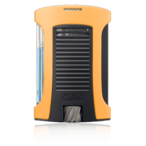 Colibri-Daytona-Single-Jet-Flame-Lighter-–-Orange