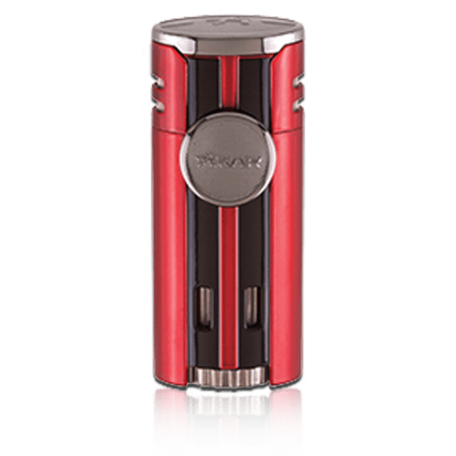 Xikar-HP4-–-Quad-Jet-Cigar-Lighter - -Red