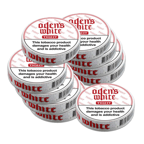Oden's Cold Extreme White Tight Portion CB – 10 x Single Tins