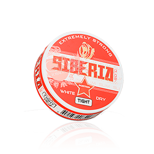 Siberia White Dry Tight Portion Chewing Bags (20g - Single Tin)
