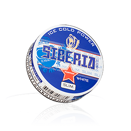 Siberia White Tight Portion Chewing Bags (20g) Single Tin