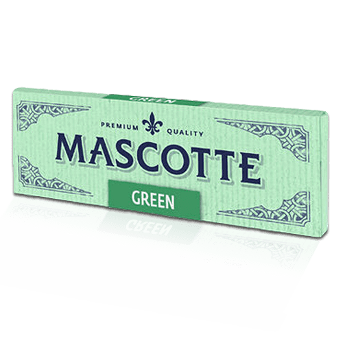 Mascotte Green Cut Corners Cigarette Rolling Papers