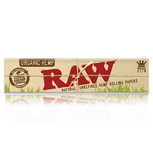 Raw Organic Hemp King Size Slim Cigar Rolling Papers