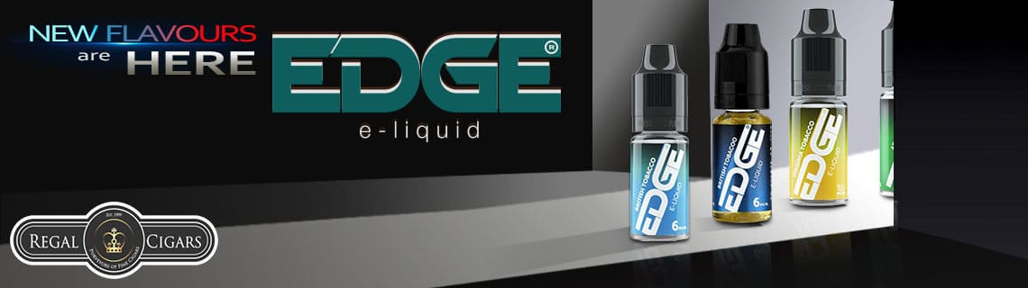 Flavoured E-Liquids from Edge